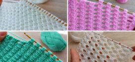 Easy Crochet Blanket Stitch Patterns For Beginners