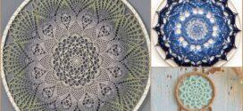 Beautiful Wall Hanger Free Crochet Patterns